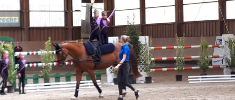 Voltige – Acrobatiek te paard